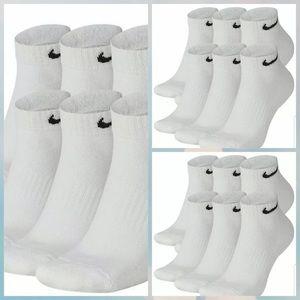 18 pairs Nike Dri-Fit Men's Cotton Low-Cut